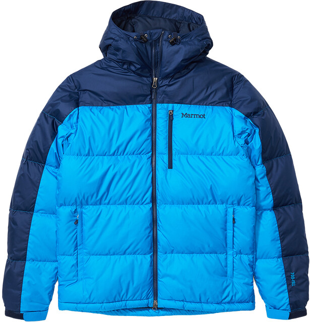 Marmot Guides Down Hoody Herre clear bluearctic navy | Gode